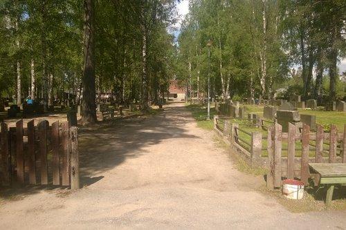 Pertunmaan vanha hautausmaa